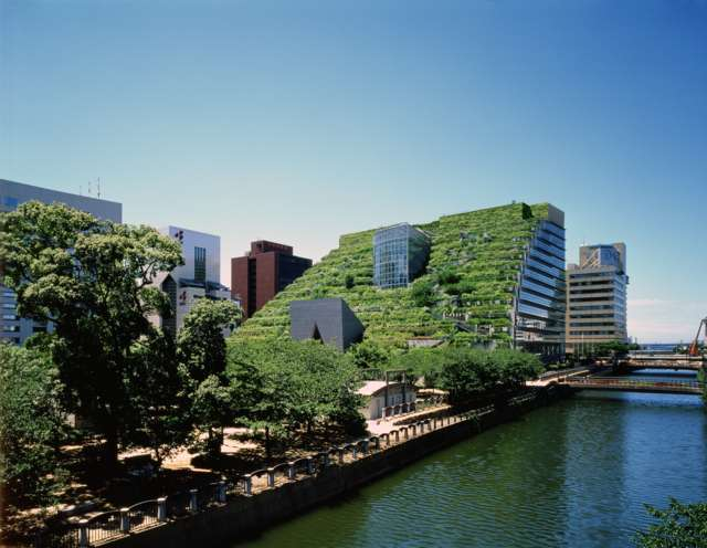 Green architecture: Emilio Ambasz a Fukuoka