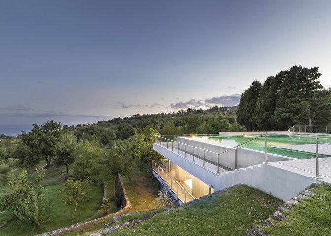 Su AREA: villa in Sicilia, DAP studio